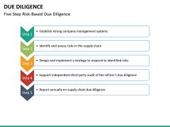 Due diligence PPT slide 24