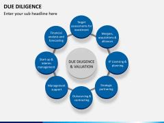Due diligence PPT slide 1