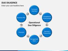 Due diligence PPT slide 6