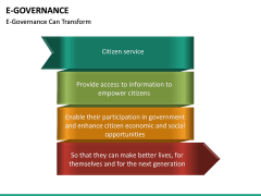 E-Governance PPT slide 30