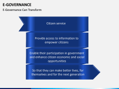 E-Governance PPT slide 14