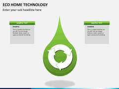 Eco home technology PPT slide 10