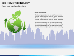 Eco home technology PPT slide 2