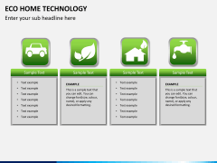 Eco home technology PPT slide 7