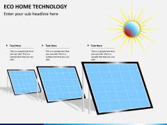 Eco home technology PPT slide 9
