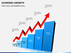 Economic growth PPT slide 1