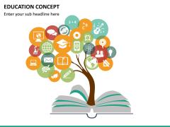Education concept PPT slide 9