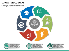Education concept PPT slide 10
