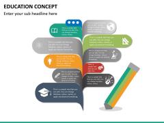 Education concept PPT slide 11