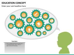 Education concept PPT slide 12