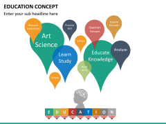 Education concept PPT slide 13