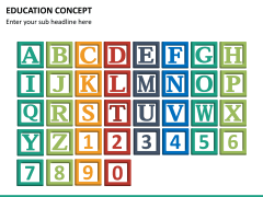 Education concept PPT slide 16