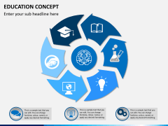 Education concept PPT slide 2