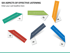 6 Aspects of effective listening PPT slide 18