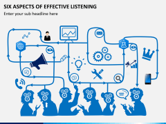 6 Aspects of effective listening PPT slide 2