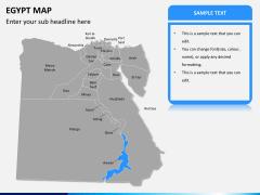 Egypt map PPT slide 10