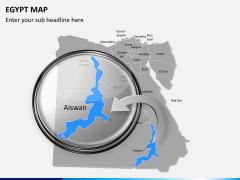 Egypt map PPT slide 14