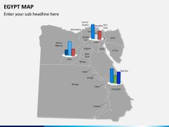 Egypt map PPT slide 15