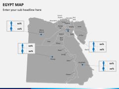 Egypt map PPT slide 17