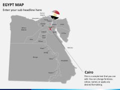 Egypt map PPT slide 18