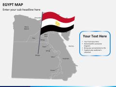 Egypt map PPT slide 19