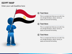 Egypt map PPT slide 22