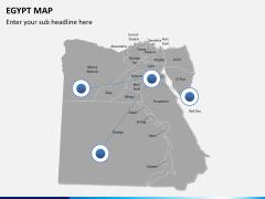 Egypt map PPT slide 4