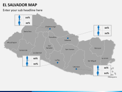 El Salvador map PPT slide 17