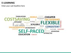 E-learning PPT slide 22