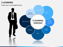 E-learning PPT slide 1