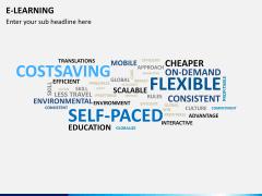E-learning PPT slide 9