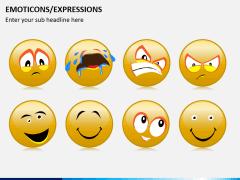 Emoticons PPT slide 3