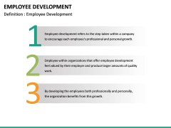 Employee Development PPT slide 22