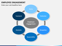 Employee engagement PPT slide 1