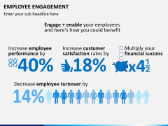 Employee engagement PPT slide 19