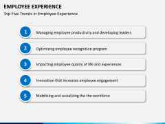 Employee experience PPT slide 15