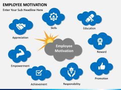 Employee motivation PPT slide 1