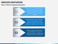 Employee motivation PPT slide 8