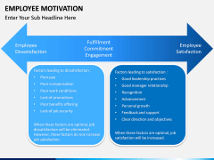 Employee motivation PPT slide 9