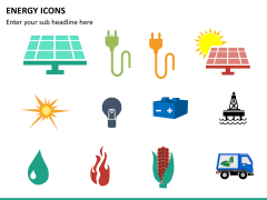 Energy icons PPT slide 4