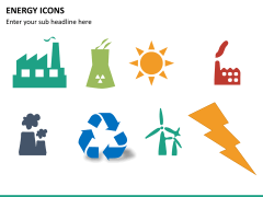 Energy icons PPT slide 6
