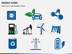 Energy icons PPT slide 2
