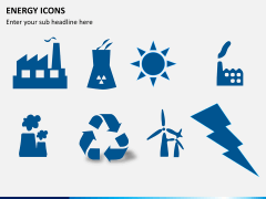 Energy icons PPT slide 3