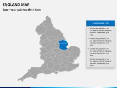 England map PPT slide 10