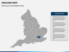 England map PPT slide 11
