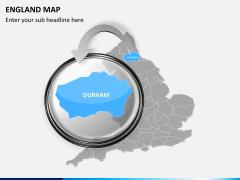 England map PPT slide 13