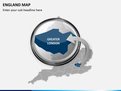 England map PPT slide 16
