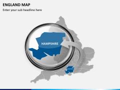 England map PPT slide 17