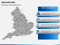 England map PPT slide 20