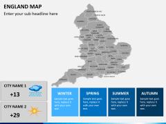 England map PPT slide 23